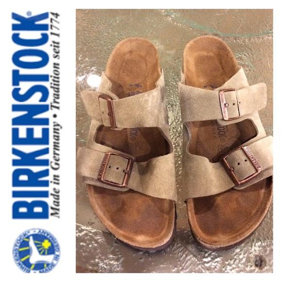 6560ef83d3c Birkenstock Shoes - Birkenstock  Arizona  Soft Footbed Suede