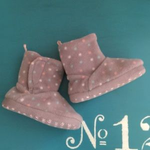 Baby girl moon boots
