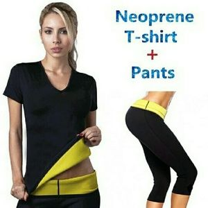 Other - HOT NEOPRENE SPORT T SHIRT AND PANTS