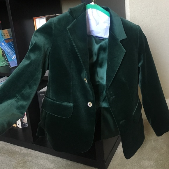 62f77d447e77 Velvet Green Suit Boys