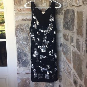 Sparkly fun cotton dress!