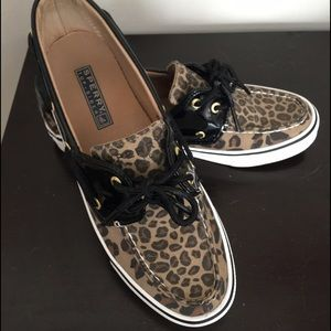 Sperry Shoes | Sperry Leopard Boat Shoe