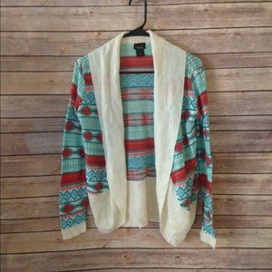 5 for $20 Rue 21 Aztec Print Cardigan size S