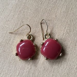 Jewelry - Berry & Gold Earrings
