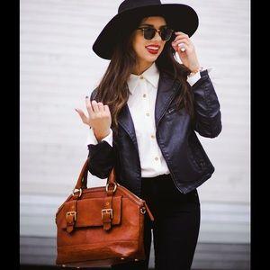 BRAHMIN Brown handbag