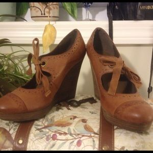 Restricted Brown Librarian Heels