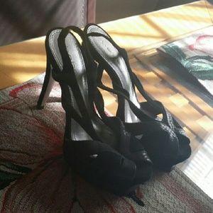 Bebe strappy high heel