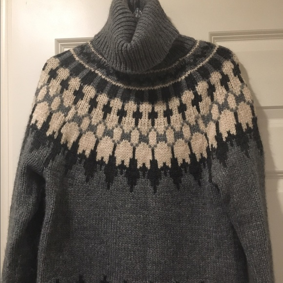 80% off GAP Sweaters - Gap fair isle turtleneck sweater from ...