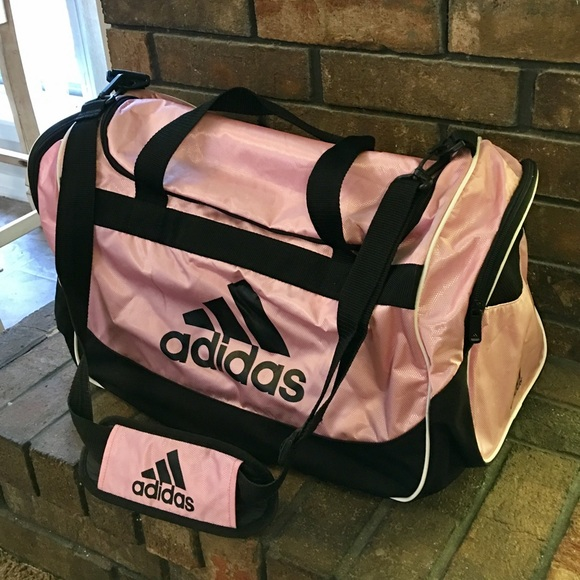 6051a0417b76 Adidas Handbags - Adidas Large Pink Duffle Bag