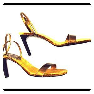 Colin Stuart Shoes - Colin Stuart Bronze Heels