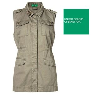 United Colors Of Benetton Jackets & Blazers - United colors of Benetton jacket Vest us size 2