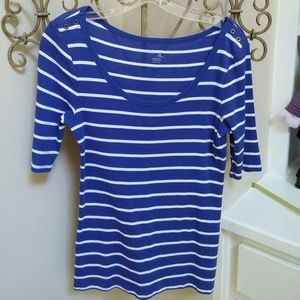 Gap factory Tops - Gap striped knit top