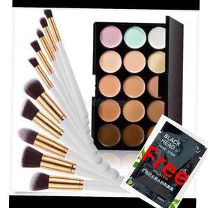 Other - Concealer+10pcs Makeup Set