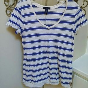 Gap factory Tops - Gap Factory  blue striped neck