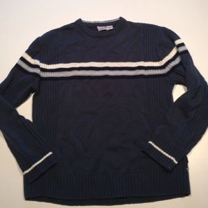 Anchor Blue Other - Men's Striped Sweater