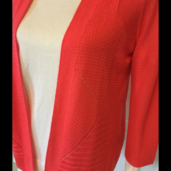 "Worthington Sweaters - 🍁""Spicey"" Coral Cardi"