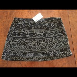 Gryphon Dresses & Skirts - NWT Small Gryphon Beaded Mini Skirt