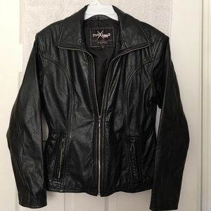 Maxima Jackets & Blazers - Women's small leather coat