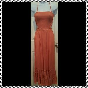 New Coral Dress Size Large