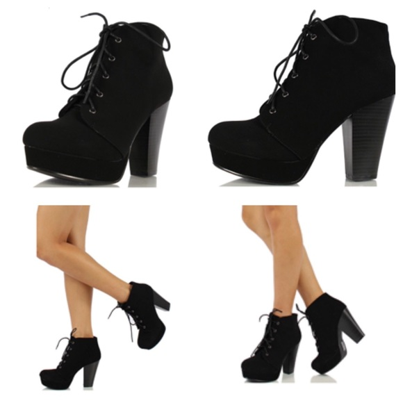 62% off Soda Shoes - Soda Agenda-5 Womens Chunky Heel Lace Up ...