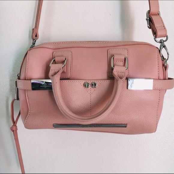 78% off Steve Madden Handbags - Steve Madden Faux Leather Blush ...