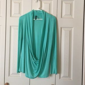 Rags and Couture Tops - XL Green Blouse