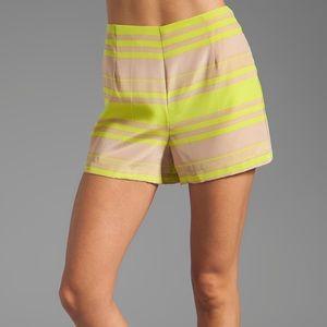 Amanda Uprichard Pants - Amanda Uprichard High-Waisted Shorts