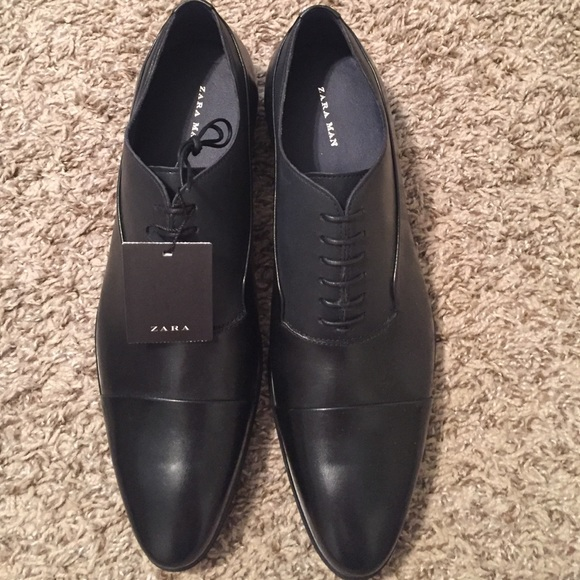 Zara Black Dress Shoes