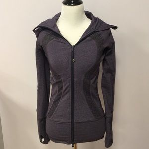 lululemon athletica Other - RARE Lululemon Purple Scuba Sweatshirt Size 2P