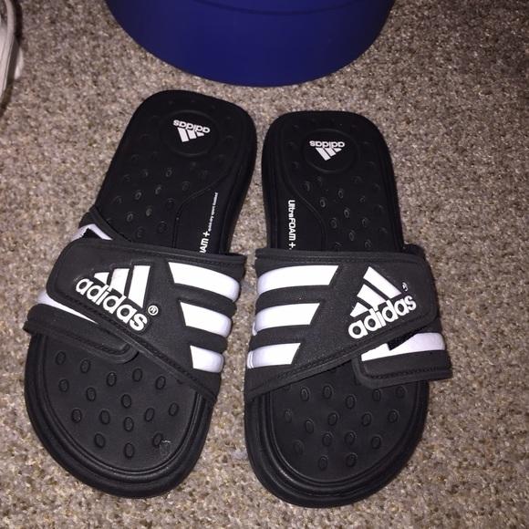 Adidas Ultra Foam Slides Sandal Size 8