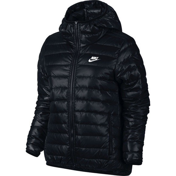 Nike Jackets Amp Coats Down Puffer Black Jacket Poshmark