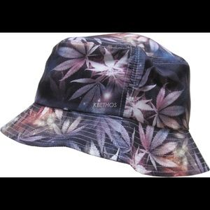 KBETHOS Accessories - Galaxy Marijuana Print Bucket Hat (Unisex)