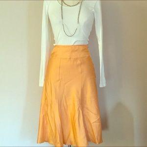 Walter Baker Dresses & Skirts - Walter Baker NWT Tangerine Retro 40s Trumpet Skirt