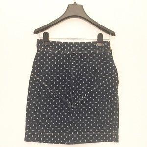 Rebecca Taylor Dresses & Skirts - NWT Rebecca Taylor denim dots mini skirt SZ 2