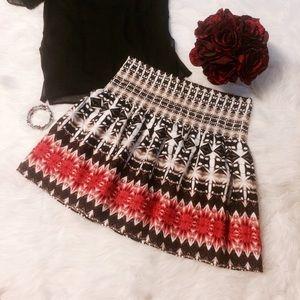 White House Black Market Circle Skirt