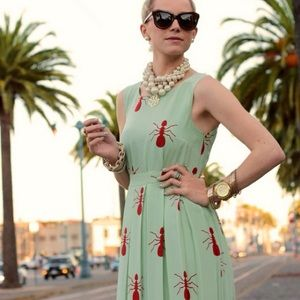 ❤️Anthropologie Fire Ants Maxi❤️