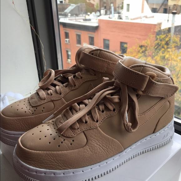 fcaad8faf0b5 AF1s Tan. NWT. Nike