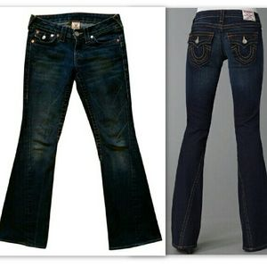 True Religion Denim - True Religion Jeans Auth Joey Flare Size 26 Hot!