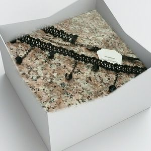 Jewelry - BLACK CHOKER NECKLACE
