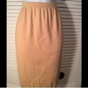 Vintage DVF sweater skirt
