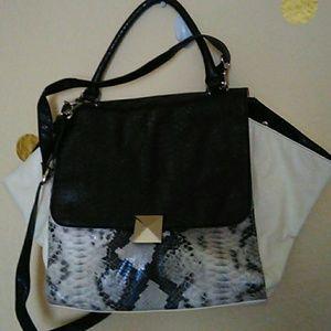 Faux Snake skin inspired bag