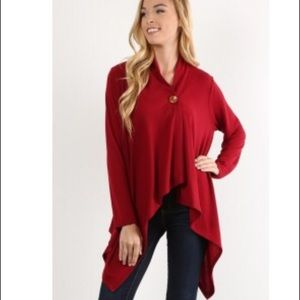 Sweaters - LAST ONE!!   asymmetric cardigan
