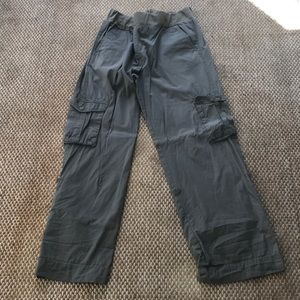 Oh Baby cargo pants Medium roll up