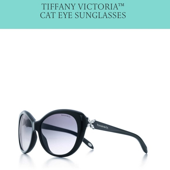 480daf1cde05 Tiffany sunglasses cat eye Victoria mint condition