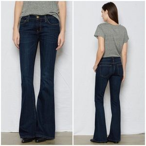 Current/Elliott Low Bell Jeans in Gibson