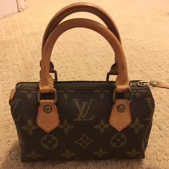ac6d9b80f2a7 Louis Vuitton Handbags - Authentic vintage Louis Vuitton mini speedy hl