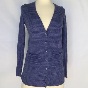 J. Crew Sweaters - J. Crew blue cardigan, size XXS