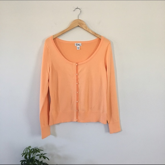 Lilly Pulitzer - Lilly Pulitzer Light Orange Cardigan from ...