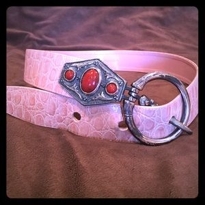 Accessories - Cool pink belt.