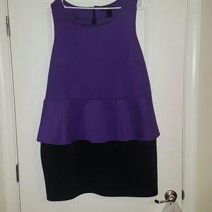 Beautiful Plus Size Peplum Dress